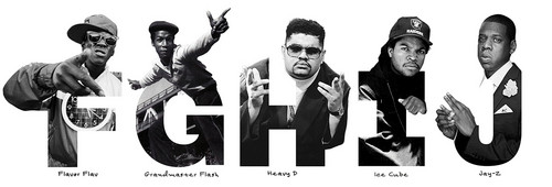 Rap and Hip-Hop wallpaper titled ABC's of Hip-Hop