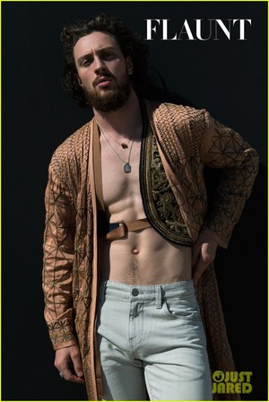 Aaron Johnson Photoshoots
