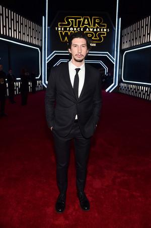 Adam Driver - سٹار, ستارہ Wars Premieres