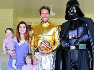 Alyson Hannigan Family