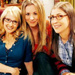 Amy, Penny and Bernadette - amy-farrah-fowler icon