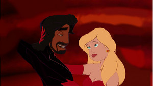 ऐनस्टेशिया Tremaine and Jafar In Once Upon A Time In Wonderland (Animated)