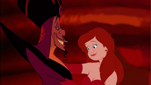 Анастасия Tremaine and Jafar as their Once Upon A Time In Wonderland counterparts