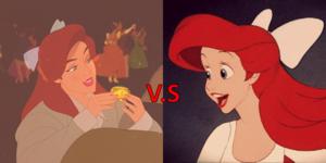 anastasia vs Ariel