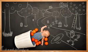 Anna Eftimie's chalkboard adventure