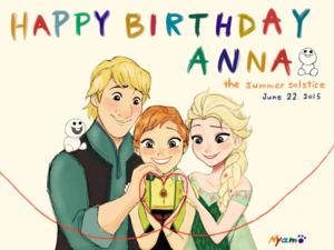 Anna, Elsa and Kristoff