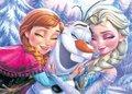 Anna, Elsa and Olaf