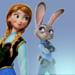Anna and Judy - disney-crossover icon