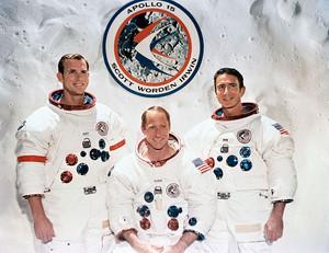 Apollo 15 Mission Crew