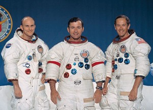 Apollo 16 Mission Crew