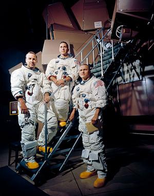 Apollo 8 Mission Crew