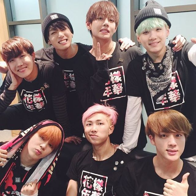 Bangtan Boys group photo~