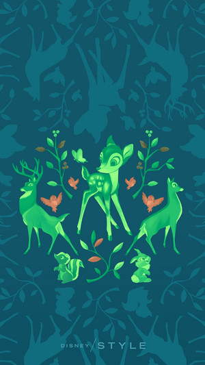 Bambi Phone wallpaper