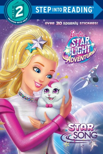 Sinema za Barbie karatasi la kupamba ukuta probably with anime called Barbie nyota Light Adventure Book