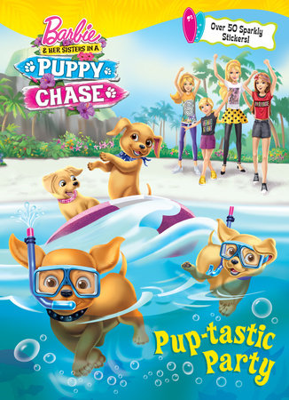 Barbie Movies wallpaper titled Barbie & Her Sisters in a Puppy Chase Book