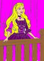 Beautiful Barbie Princess Coloring Printable - barbie fan art