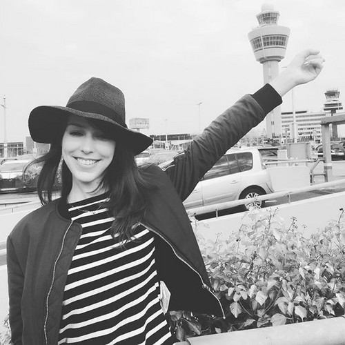Stefanie Joosten 壁紙 containing a fedora, a boater, and a campaign hat titled Beautiful Stefanie !