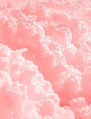 Beautiful pink clouds