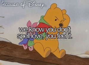 Because of Disney....