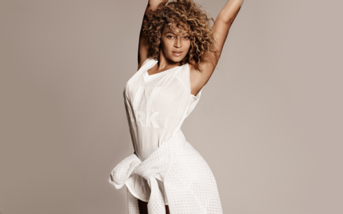 Beyonce wallpaper probably containing a dinner dress titled Beyonce for ELLE