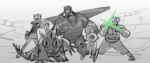 Big Hero 6 Storyboard Concept Art