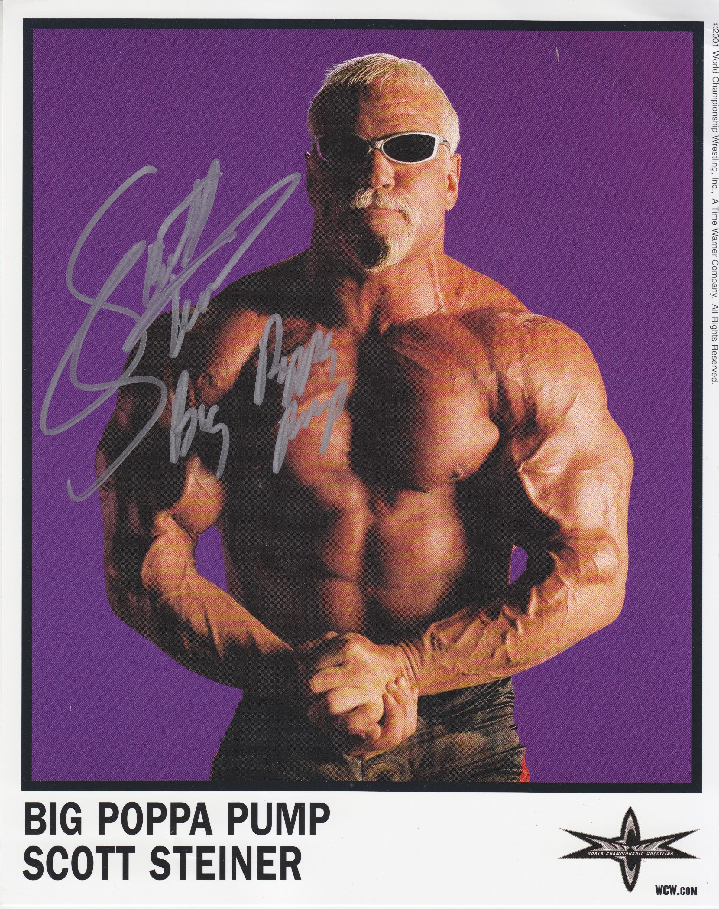 Big Poppa bomba Scott Steiner