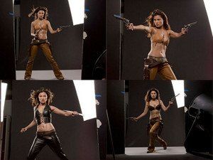 Bloodrayne 2 : Deliverance (Promo Shoot collage)