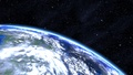 Blue earth - blue photo