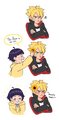 Boruto and Himawari