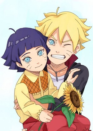 Boruto and Himawari <33