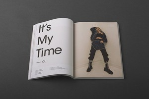 CL fires up the pages of 'Highsnobiety' magazine
