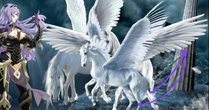 Camilla has captured and taken an Herd of Beautiful Pegasus from Hoshido and put them in chains