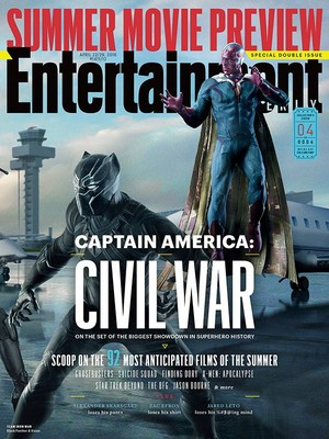 Captain America: Civil War - Entertainment Weekly Cover