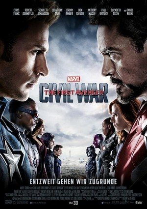 Captain America: Civil War - International Poster