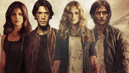 The 100 wallpaper probably containing a portrait called Cast of The 100