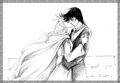 Catherine Chmiel - Eowyn and Faramir: Kiss on the Walls