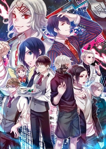 Tokyo ghoul characters wallpaper 1920x1440l pictures to pin on