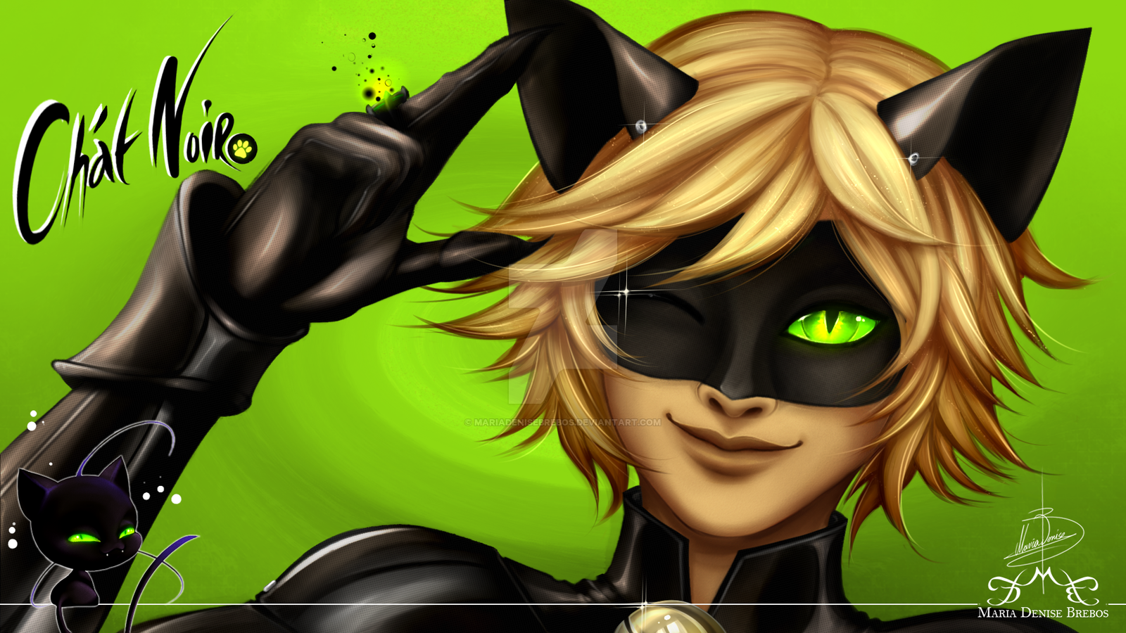 Chat Noir Miraculous Ladybug Fan Art 39480824 Fanpop