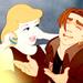 Cinderella and Jim - disney-crossover icon