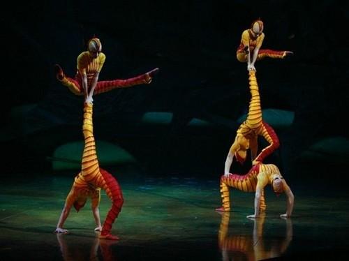 Cirque du Soleil karatasi la kupamba ukuta called Cirque du soleil