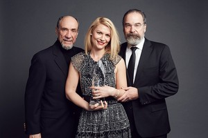 Claire Danes, Mandy Patinkin and F. Murray Abraham