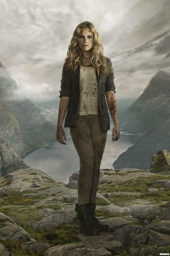 Clarke and Lexa fond d'écran entitled Clarke Season 2