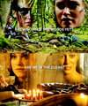 Clarke and the  - clarke-and-lexa fan art