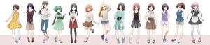 Class 3-E's girls