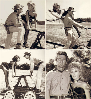 Clint Eastwood and Barbara Eden Rawhide: 'Incident at Confidence Creek' (November 28, 1963)