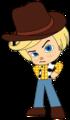 Rancis as a Cowboy - wreck-it-ralph fan art