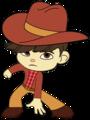Gloyd as a Cowboy - wreck-it-ralph fan art