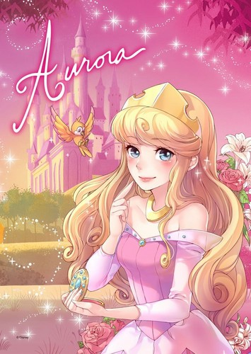 Principesse Disney wallpaper titled DP Giappone - Aurora
