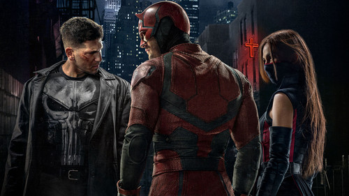 Daredevil (Netflix) 壁紙 probably containing a tabard, a horse wrangler, and a lippizan entitled Daredevil Season 2