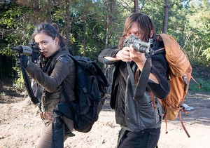 6x14 ~ Twice as Far ~ Daryl & Rosita